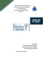 Informe de Lab Fisica 2 (Practica 1)