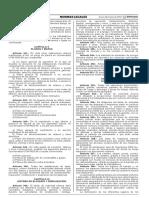 D.S. N° 024-2016-EM-TÍTULO IV, CAPÍTULO XI SISTEMA DE BLOQUEO Y SEÑALIZACIÓN