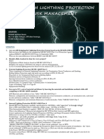 Flyer Seminar on Lightning Protection Risk Management1