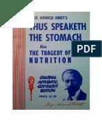Arnold Ehret - Así Habla El Estómago