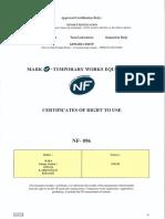 Certificado de Uso