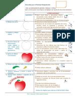 3° sesion corel bezier manzana
