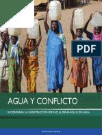 Agua Conflicto y Cooperacion. Legal