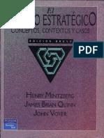 El Proceso Estrategico Edicion Breve de Henry Mintzberg