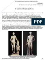 Gender Portrayals in Classical Greek Statuary _ Melissa Huang_ Musings on Art and Gender