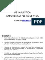 De La Mística. Panikkar