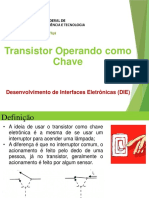 DIE - 04 Transistor Operando Como Chave