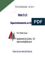 Espectrofotometria 2s 2011 Parte 1 Modo de Compatibilidade