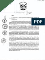 Lineamientos Tarifa Por Monitoreo y Gestión Del Agua Subterránea R.J. Nº 478-2012