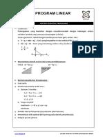 #11 Materi Essential Program Linear