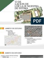 """Proyecto para elaboración de Jardines en la Institución Educativa """"Nuestra Señora de Fatima"""""""