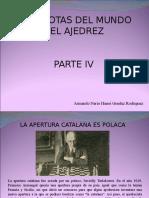Armando Nerio Hanoi Guédez Rodríguez - Anécdotas Del Mundo Del Ajedrez, Parte IV