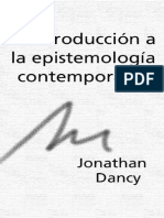 L Dancy Epistemologia Contemporanea