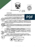Reglamento Procedimientos Administrativos Otorgamiento de Derechos de Uso de Agua