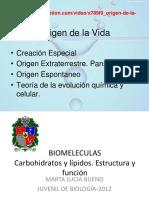 3-Carbohidratos y Lípidos. Estructura y Función