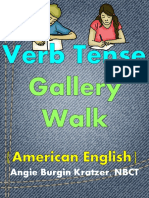 Verb Tense Gallery Walk Free