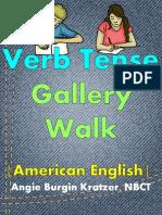 Verb Tense Gallery Walk Free