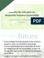 Modelo de Vida Para Un Desarrollo Humano Sustentable