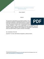 Ways of Tax Impugnation in Bolivia Appli