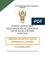 Estudio para REGULARIZACIÓN DE LICENCIA DE USO DE AGUAS SUB TERRANEAS.pdf
