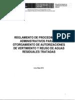 Reglamento de PAOA Vertimientos_RJ 218