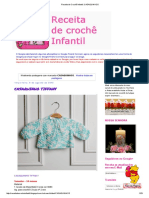 Receita de Crochê Infantil_ CASAQUINHOS