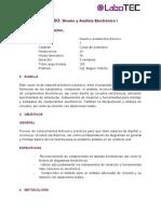 Diseño y Análisis Electrónico (SYllabys)
