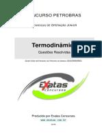 Amostra Petrobras Tecnico Operacao Termodinamica