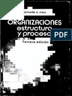 Organizaciones Estructura y Proceso