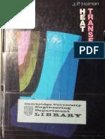 Heat Transfer 6th Ed - J. P. Holman (McGraw-Hill, 1986)