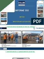 Informe Semanal SSO (G&T) Del 01.09.17 Al 15.09.17