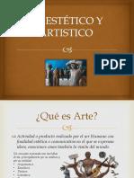 Lo Estético y Artistico