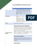 """""""Funcionamiento Del CCONNA de World Vision Perú"""""""