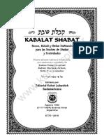 Kabala t Shabat 2015