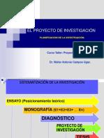 El Proyecto de Investigación 080917 1