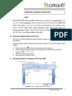 Buku Panduan Belajar Ms Word Print 2017
