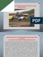 1.4 Construcción de Obras Provisionales