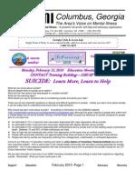 NAMI Columbus Newsletter - Febraury 2010