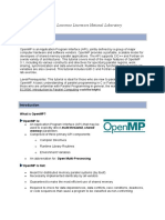 OpenMP Tutorial - Lawrence Livermore National Laboratory.doc