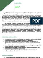 Proyecto Educativo Ambiental. 22-06-2010