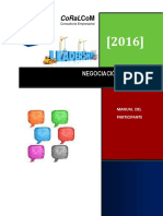 9. Negociación Efectiva Manual Participante 2016