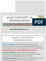 1. Basic Concepts in Pharmacology