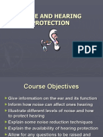 Noise and Protection of Hearing