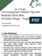 JMI-Kuliah Umum_Pembangunan Industri Pig Iron Berbasis Pasir Besi Di