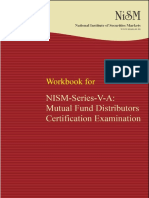 Nism Series v a Mutual Fund Distributors Exam Workbook