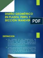 CLASE N°02 DISEÑO GEOMÉTRICO DE CARRETERAS