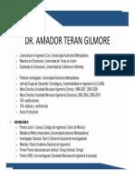 Amador Teran Gilmore Curriculum