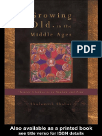 Shulamit Shahar-Growing Old in the Middle Ages