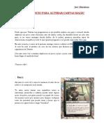 Guía de Inicio Para Alterar Cartas Magic