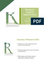 DSR Presentation 2014